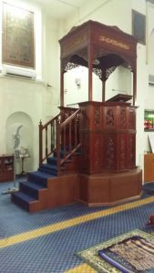 Mimbar Masjid Jati Melayu