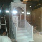 Replika Mimbar Masjid Nabawi