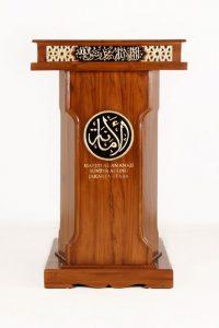 Mimbar Podium Jati Al Amanah