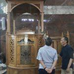 Mimbar Jati Masjid Lamongan