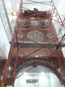 Mihrab Jati Masjid Al Mujahidin