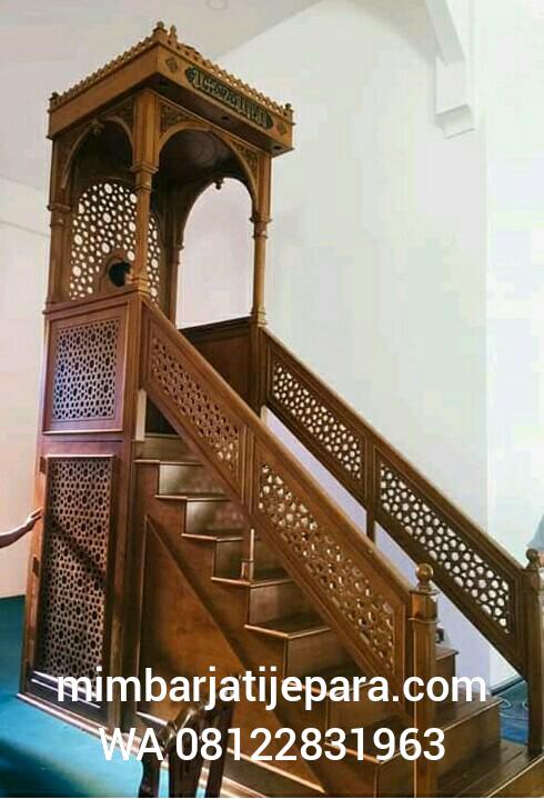 Mimbar Masjid Model Turki